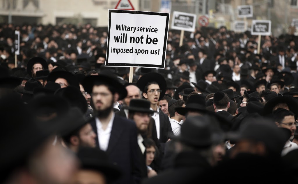 The Terrifying Israeli Ultra-Orthodox Response To Military Service