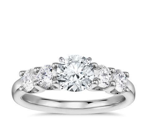Luna Diamond Engagement Ring in Platinum (4/5 ct. tw