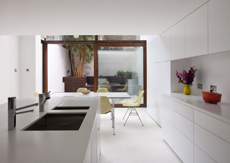 Hoxton House by David Mikhail Architects - Dezeen