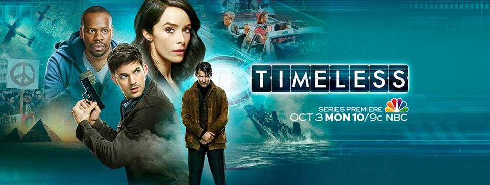 Resultado de imagem para Timeless serie posters