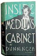 Inside the Medium's Cabinet by Joseph Dunninger