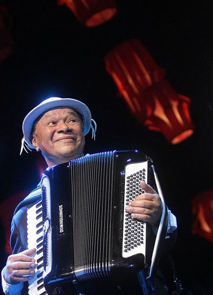 Dominguinhos foi homenageado no Prêmio Shell de Música em 2010. (Foto: Marcos De Paula/Estadão Conteúdo)