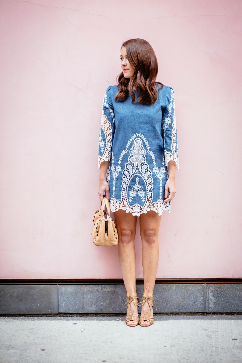 Chicwish Denim Dress 1