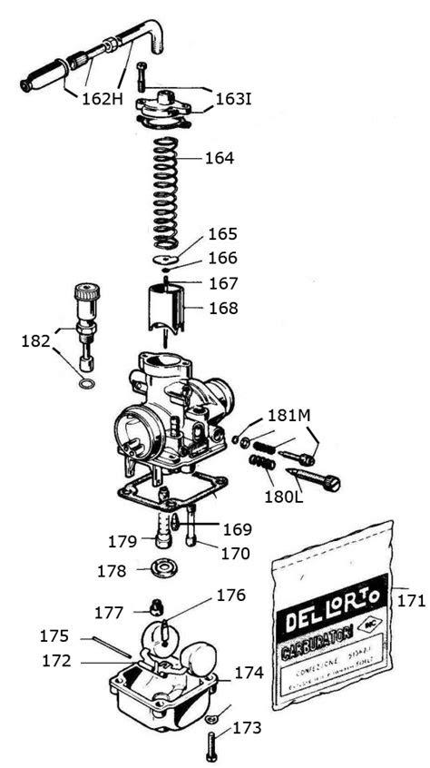 Mini Rok Carburetor Parts :: Vortex Mini Rok Engine Parts
