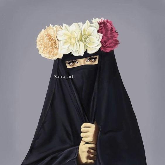 Niqab arabic girl is very horny 9