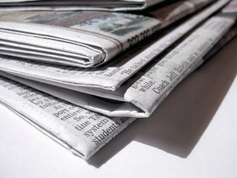 newspaper image from mixedink blog