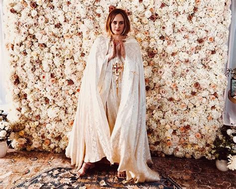 Adele Officiated, Planned and Hosted a Wedding for Her