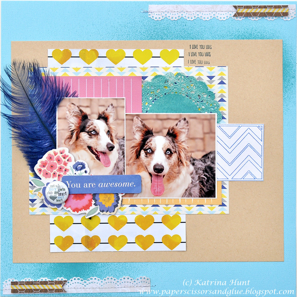 You are Awesome-The Paper Bakery April Kit Lemonade Stand