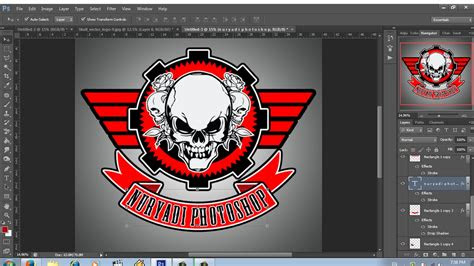 desain logo club motor keren