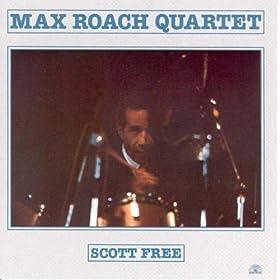 Max Roach - Scott Free  cover