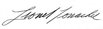 Conacher autograph, Conacher autograph