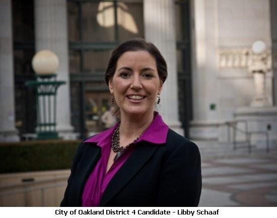 Oakland City Council Election: Precinct Walking For Libby Schaaf