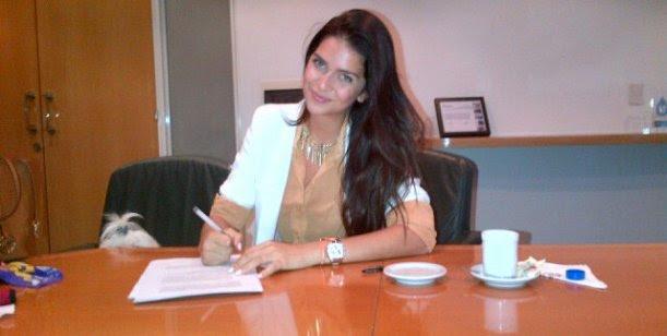 Zaira Nara, figura de Telefe en el 2013