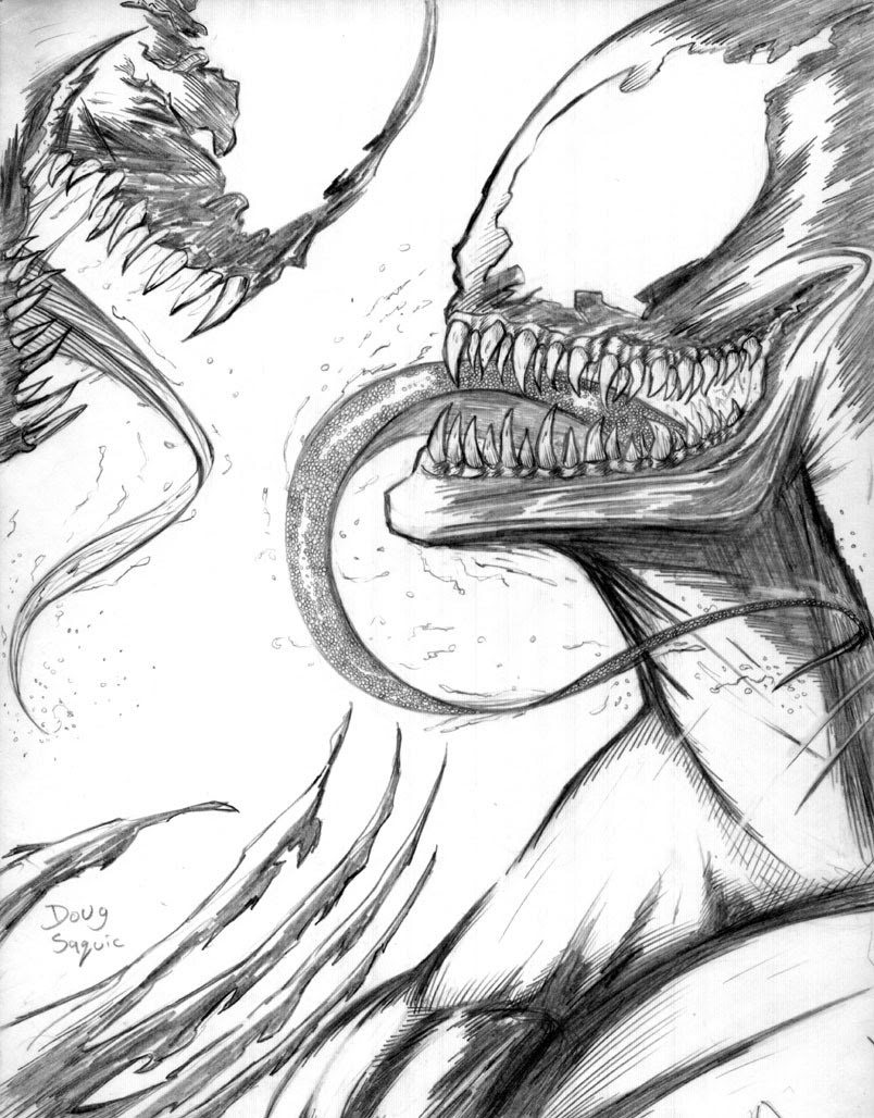 Hulk Vs Venom Coloring Pages Coloring And Drawing