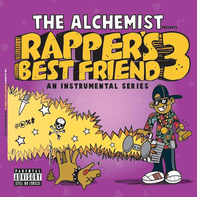 The Alchemist Rappers Best Friend 3 Release Date Cover Art