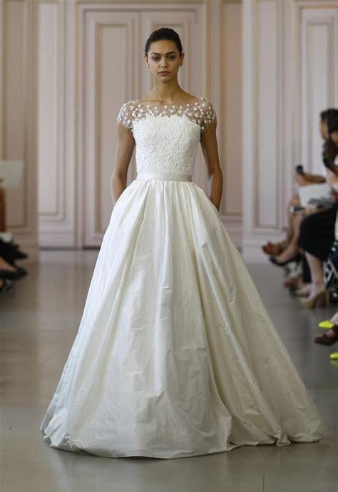 Oscar De La Renta Wedding Dress   Chic Vintage Brides