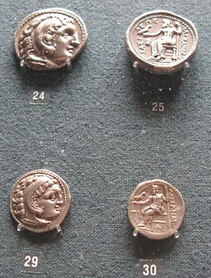 Mints of Alexander the Great: 24-25. Tetradrac...