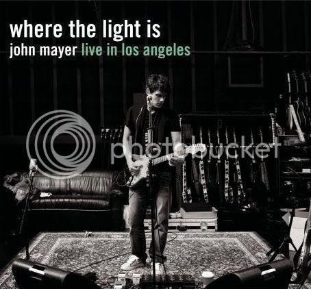 John Mayer Where The Light Is CD cover