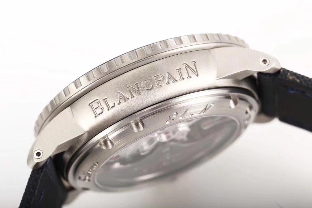 BLANCPAIN Engraving on Case