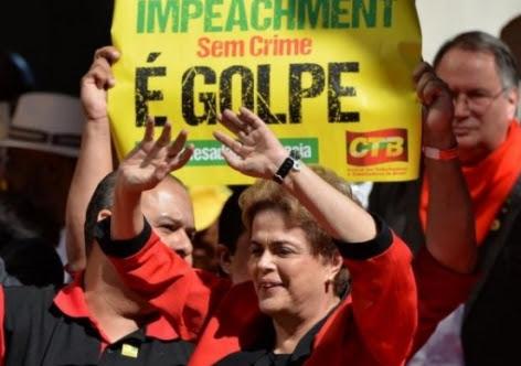 Dilma Rousseff: impeachment sem crime de responsabilidade é golpe