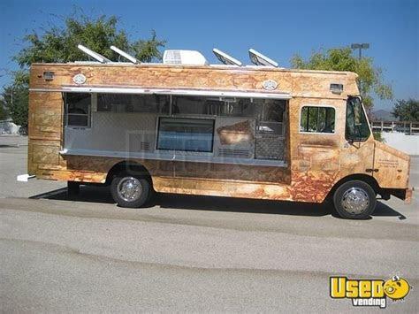 freightliner mt step van food truck  california