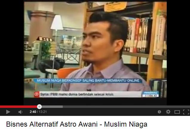 Miliki Kedai Online Dropship Bersama Muslim Niaga