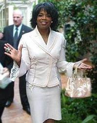 Oprah Winfrey At Hotel Bel Air in January, 2004