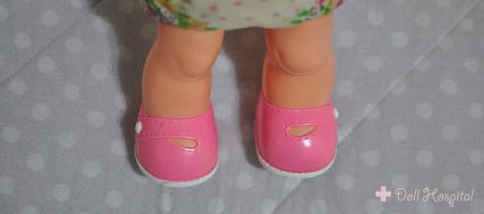 pés de boneca