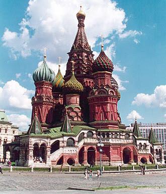 Catedral de San Basilio en Moscú Kremlin
