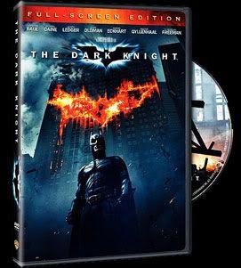 THE DARK KNIGHT on standard DVD.