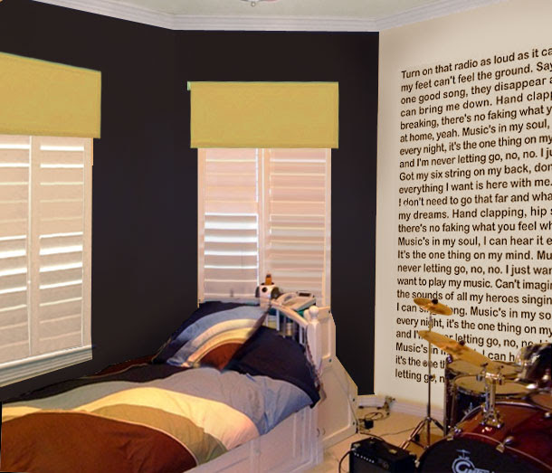 A Teen Room with Personality - Mochi Home   Modern art you can ...