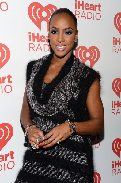 Kelly Rowland - Backstage at the iHeartRadio Music Festival