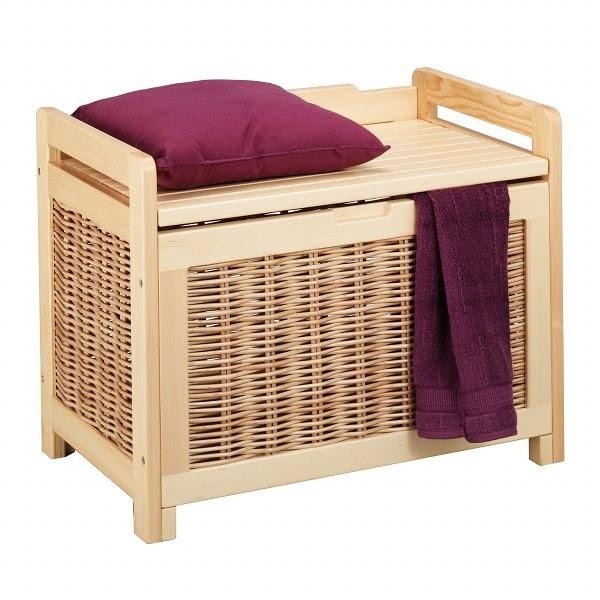 boite de rangement panier linge 2 2. Black Bedroom Furniture Sets. Home Design Ideas