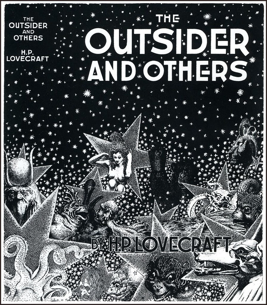 Virgil Finlay - 74, H. P. Lovecraft. The Outsider and Others. Arkham House, 1939