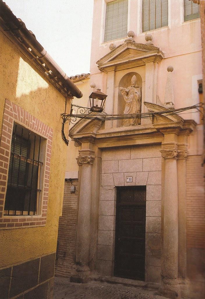 Portada de la Iglesia de San Torcuato en los años 90