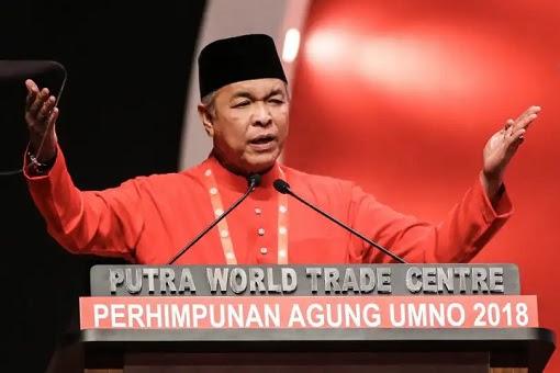 Zahid Hamidi - UMNO General Assembly 2018 Speech