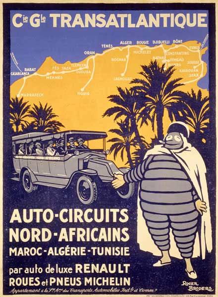 Michelin Man Bibendum Africa