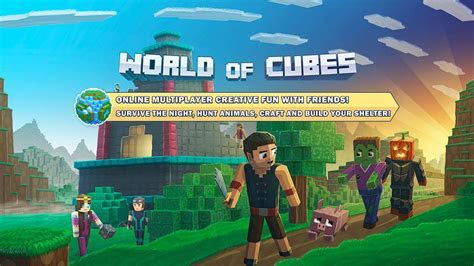 World of Cubes Survival Craft   Create your own worlds