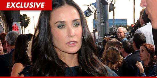 Demi Moore inhaled nitrous oxide