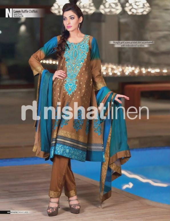 Nishat-Linen-Eid-Dress-Collection-2013-Pret-Ready-to-Wear -Lawn-Ruffle-Chiffon-for-Girls-Womens-6