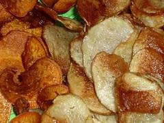 Sweet & Russet Potato Chips cu