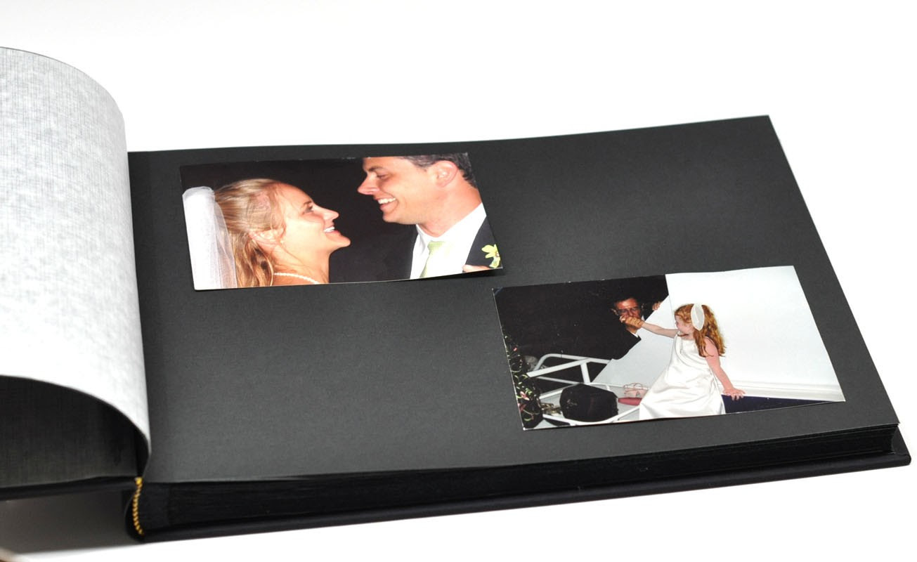 Classic Archival Photo Album A Personalized Photo Book By Blue