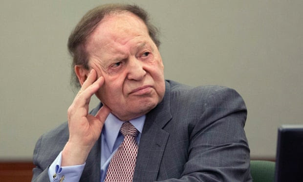 Casino mogul Sheldon Adelson said Jacobs had 'hypnotised' a senior company lawyer into scrutinising payments to a Macau legislator out of concern they breached US anti-bribery laws.
