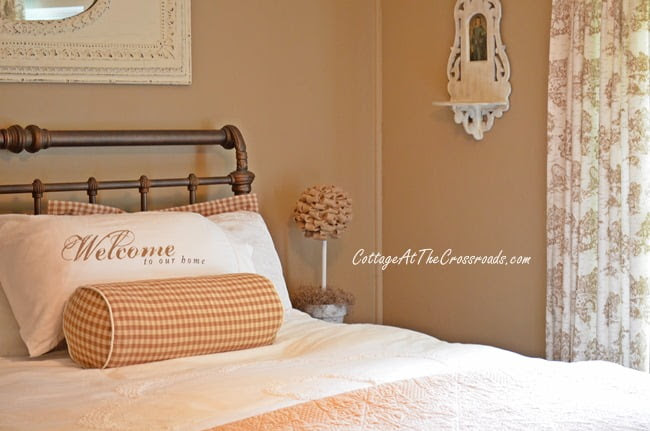From My Front Porch To Yours-How I Found My Style Sundays-guest bedroom | Cottage at the Crossroads