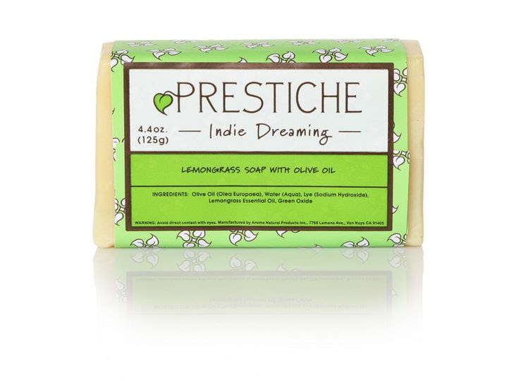 Prestiche Indie Dreaming Lemongrass Soap w/ Olive Oil - $4.00