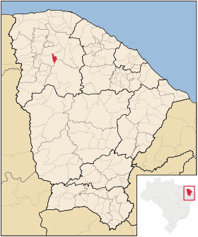 Localização de Groaíras
