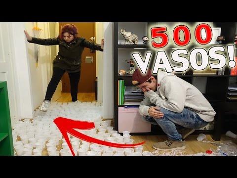 Broma de los 500 vasos