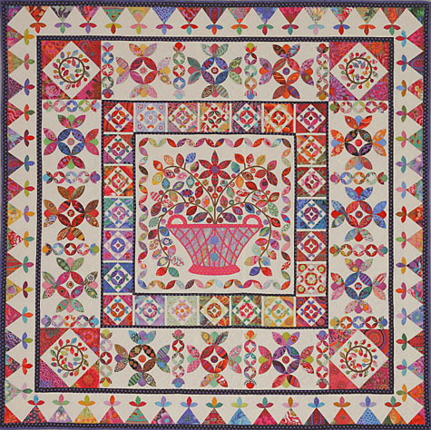 Basket Medallion Quilt