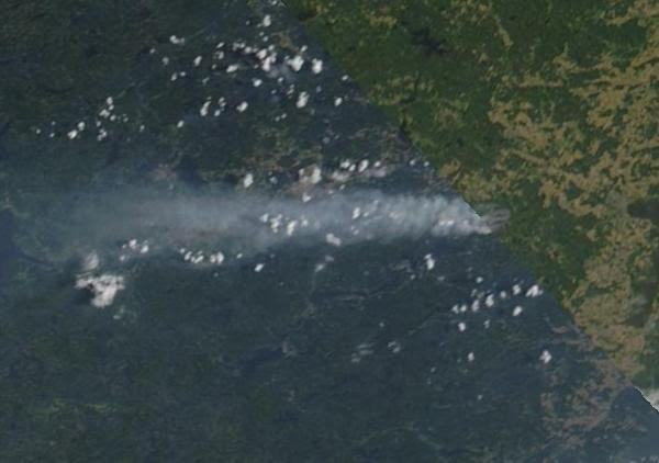 Worst Fire On Record Raging in Heat Sweltered Sweden