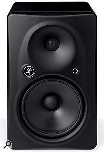 The Mackie HR 824 MkII is one of the the few compact studio monitors that currently uses apassive radiator, located on the rear panel behind the amplifier chassis.